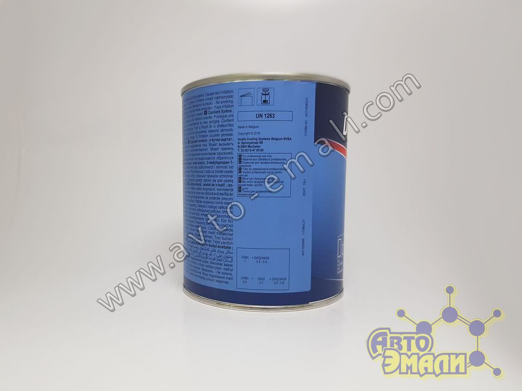 dx5227-пигментная-паста-duxone-basecoat-medium-fine-bright-alu-1л1 photo